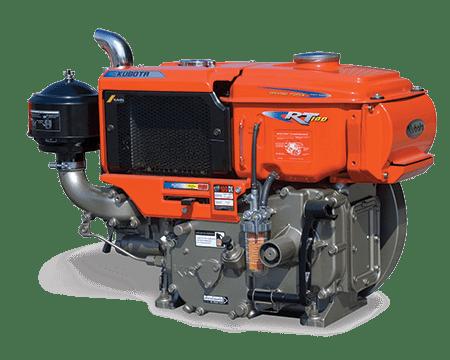 Kubota RT100-Horizontal-Engine
