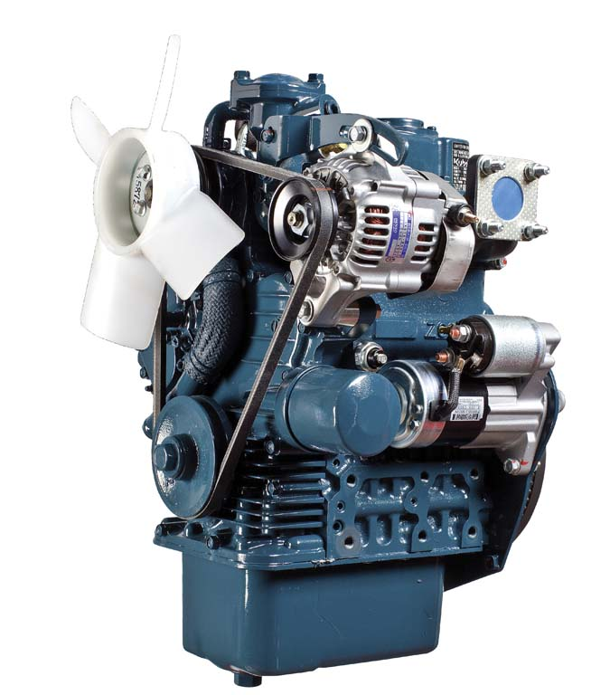 Kubota Z602 Engine supermini