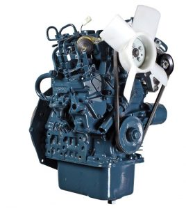 Kubota Z602 supermini engine