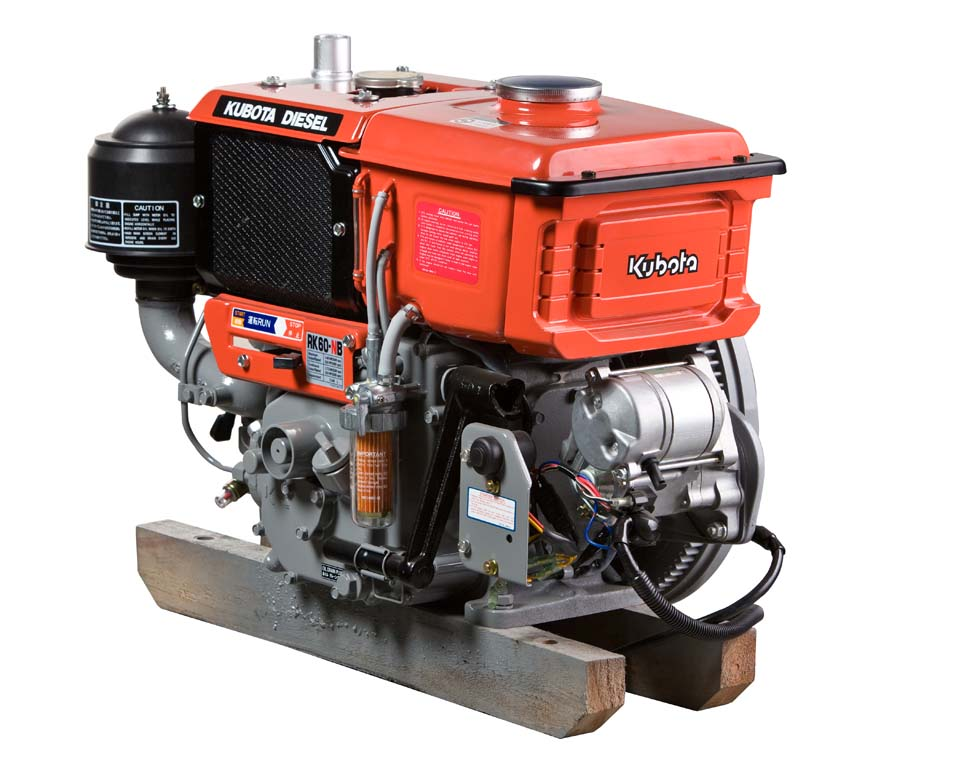 Kubota RK60 Engine