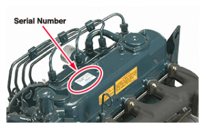 how to find serial number