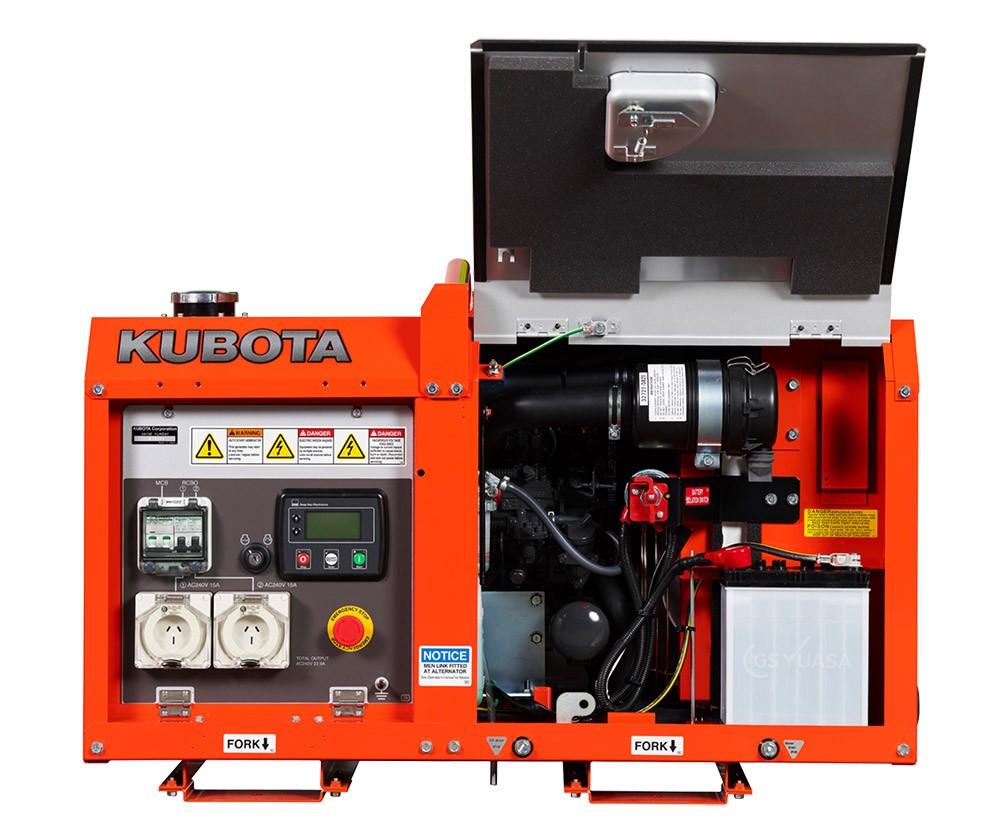 Kubota GL-6000 Generator 1 sml