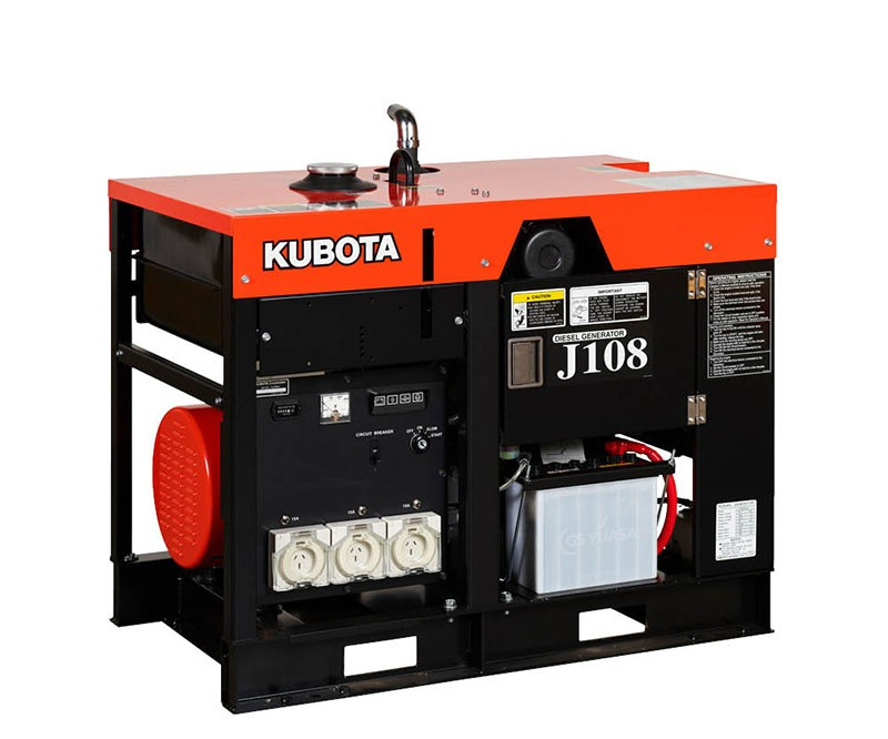 Kubota J108 Generator