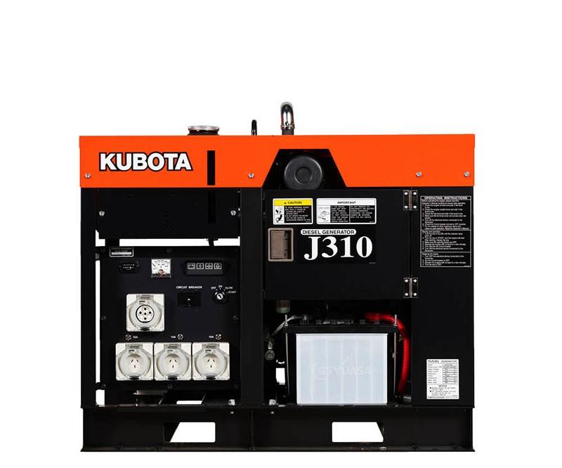 Kubota J310 Generator