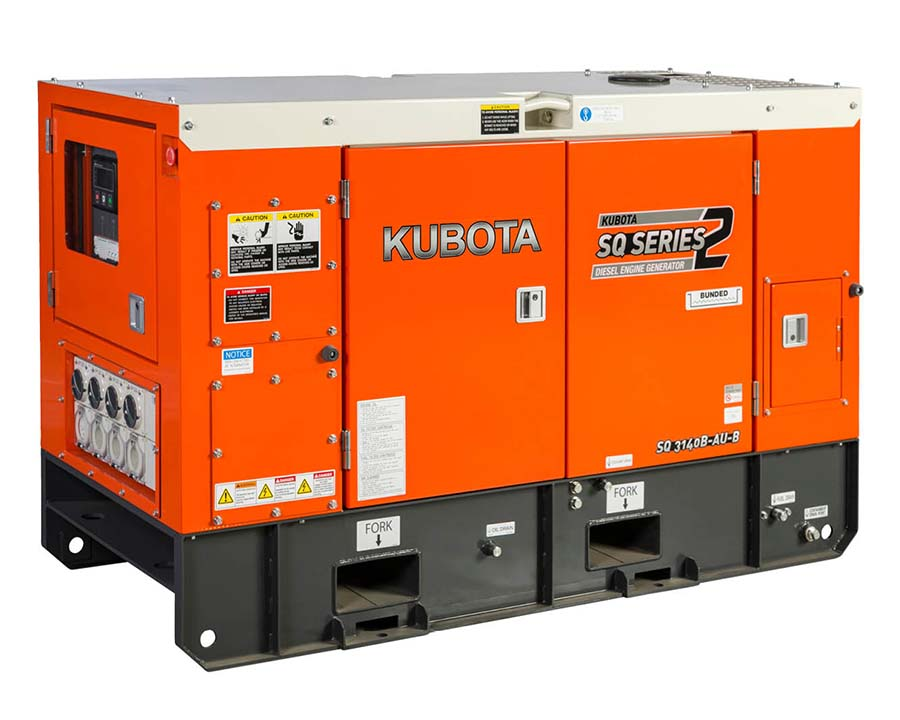 Kubota SQ3140 Generator