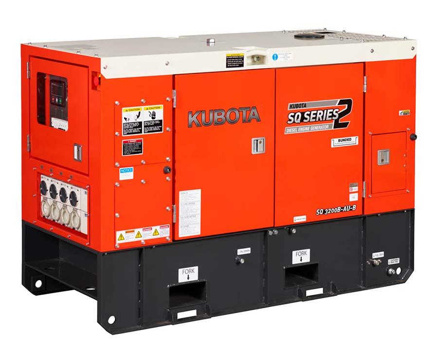 Kubota SQ3200 Generator