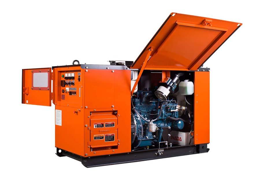 Kubota kj-s240 generator