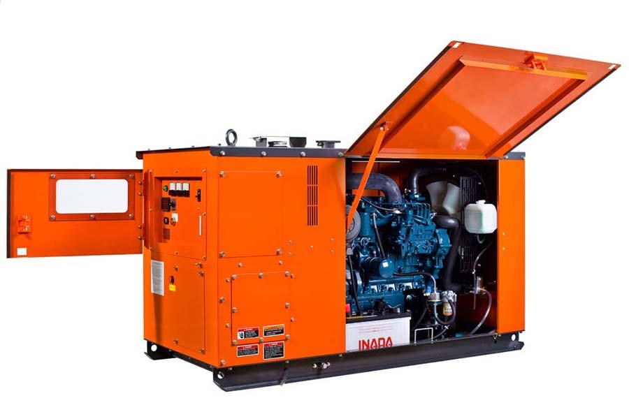 Kubota kj- t130dx generator