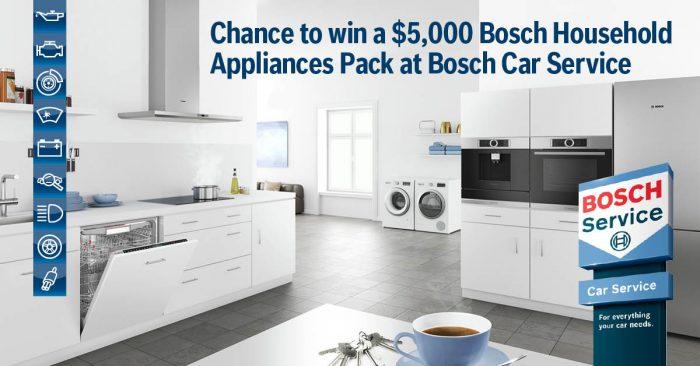 Bosch Car service promotion