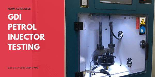 GDI Petrol Injector Testing