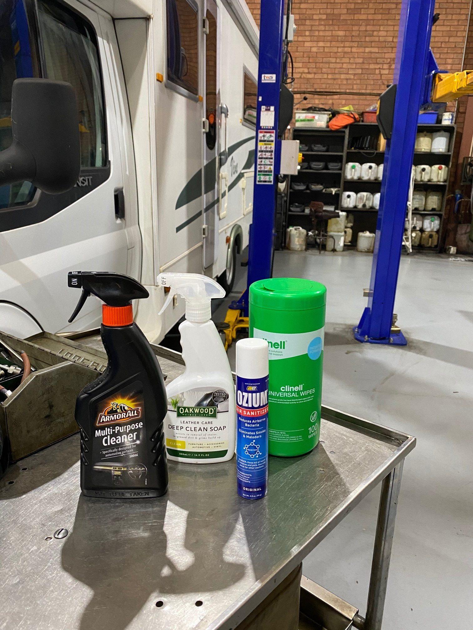 car sanitizing
